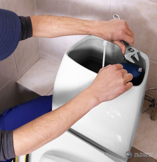 SAL Plumbing & Rooter have the necessary experience to repair, replace, or install your toilet.