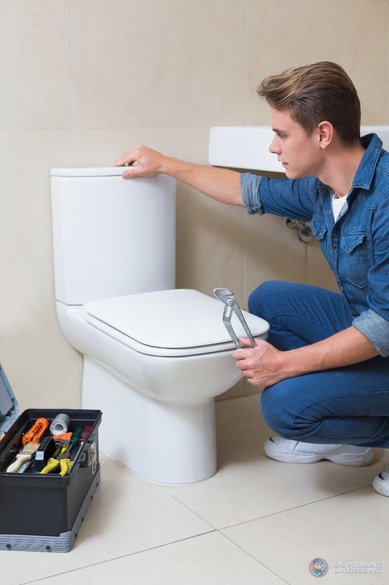 Toilet failure can be due to a number of different reasons.