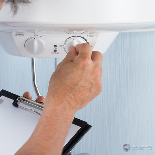 Regular water heater inspections can help extend the lifespan of your water heater.
