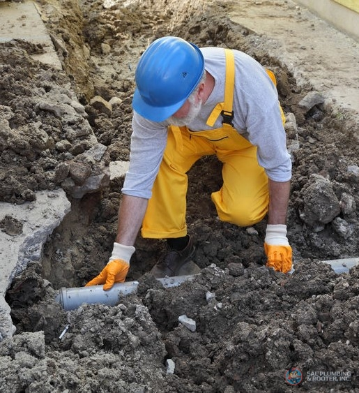 SAL Plumbing and Rooter Inc. can help with your main line water repair needs.